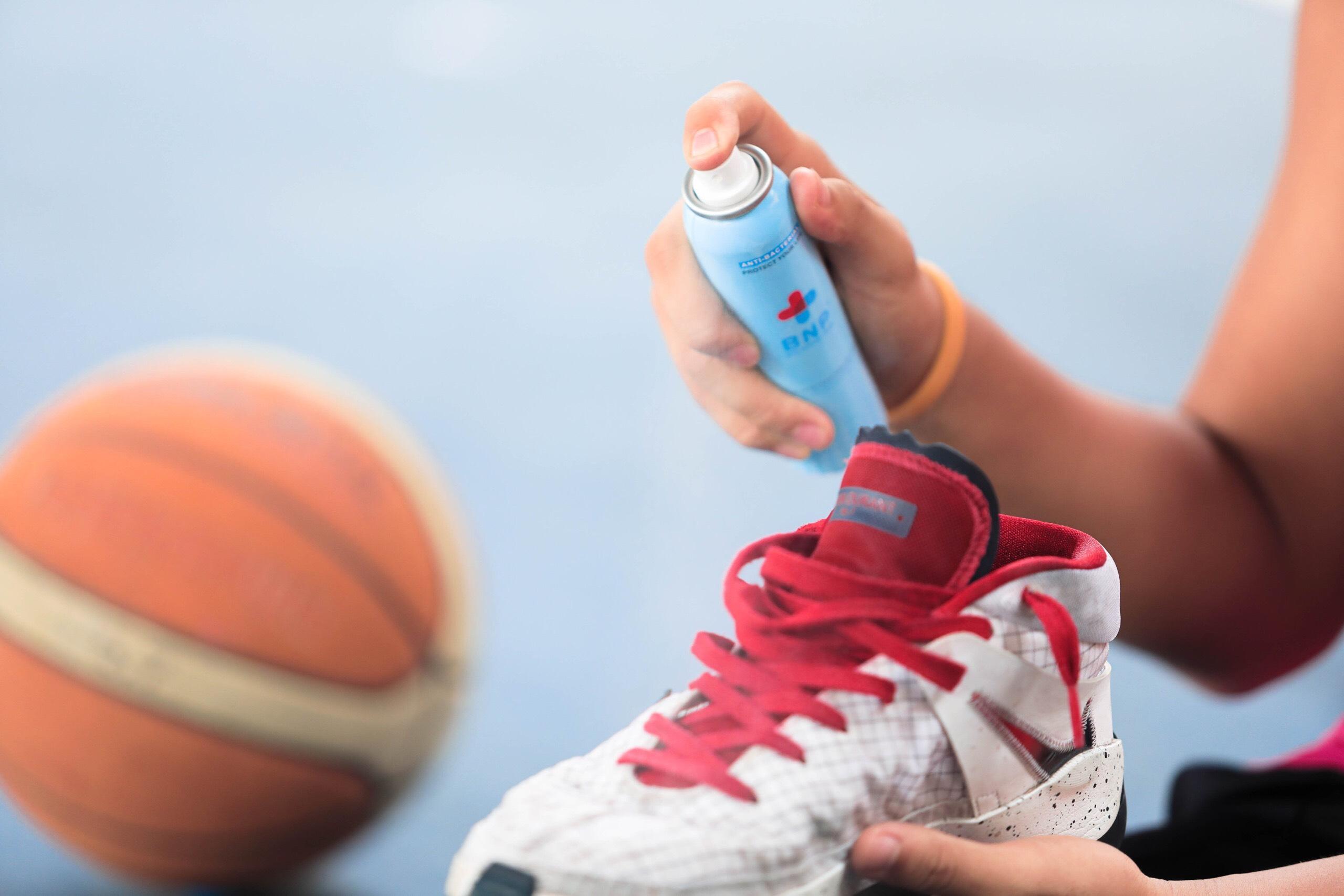 cách khử mùi cao su trên giày bằng dung dịch BNP