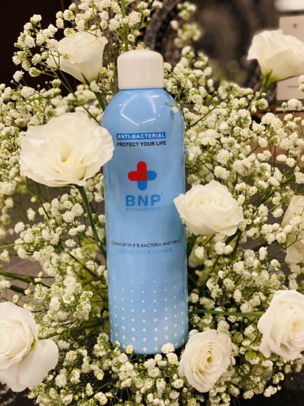 xịt khử mùi BNP hương cam
