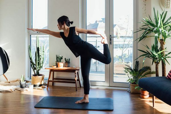 Tập thể dục thường xuyên tại nhà