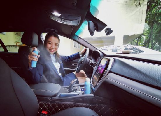 khử mùi ô tô mới hiệu quả